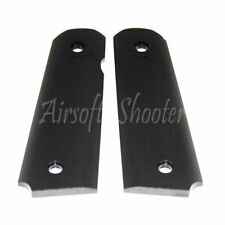 Airsoft Shooting Gear CNC Aluminum Pistol Grip Cover For Marui M1911/M.E.U Black