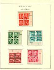 US #1030-1053 Liberty Issues Full Set of 27 MNH VF-XF (CV $425)