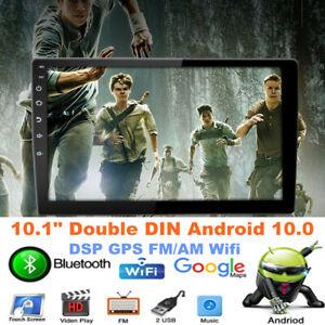 "10.1"" Double DIN Android 10.0 Car Radio Stereo Carplay DSP GPS Navi FM/AM Wifi"