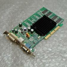 128MB Dell G0001 nVidia GeForce FX5200 DVI VGA TV-Out GRAFICA AGP Scheda Video