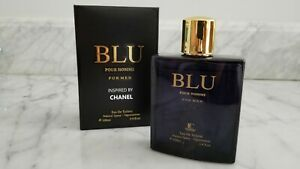 BLU BLEU BLUE pour Homme High Quality Impression For Men 3.4 fl.oz EDP