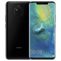 Huawei Mate 20 Pro LYA-L0C 128GB Black Unlocked GSM Android LTE Smartphone USED