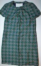 NWT $178 J Crew Silk Medallion Print Swoop Dress Size 2