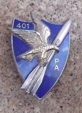 insigne - 401° régiment d'artillerie - Drago