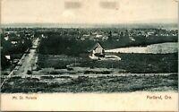 Vtg Postcard 1900s UDB Portland Oregon OR - Mount St Helens View Before Eruption