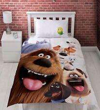 The Secret Life of Pets Animals Single Duvet Cover Set Official Kids Bedding