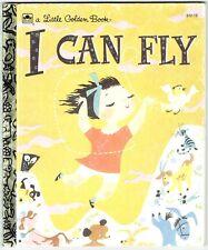 Children's Little Golden Book I CAN FLY by Ruth Krauss