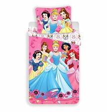 Officiel Disney Princess Européen Set Housse de couette Simple Ariel