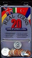 20 Different World Coins From Africa and Asia