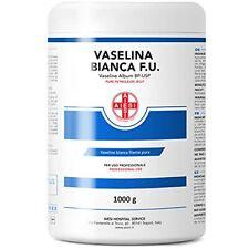 AIESI® Vaseline blanche filante pure Ph.Eur. flacon de 1 kg à usage Médical D...
