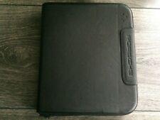 Conférencier / porte-documents / organiseur officiel Porsche en cuir avec zip