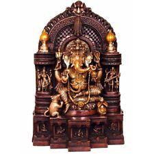 """South Indian Antique Hindu God Ganesh Lucky Décor Gift Ganpat Murti Statue 19"""""""