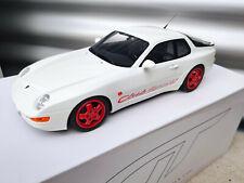 PORSCHE 968CS weiss white blanc ZM092 GT Spirit 1:18 NEW