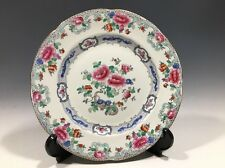 Whieldon Ware Mandarin Plate F.Winkle & Co. England