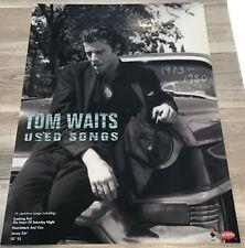 TOM WAITS RARE ORIGINAL LTD ED USED SONGS RARE PROMO POSTER 24X18