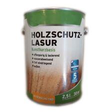 2 x 2,5 L Wilckens Holzschutzlasur Kunstharzbasis innen/außen 5 L Farbwahl