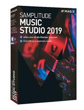 MAGIX Samplitude MUSIC STUDIO 2019 Musikstudio Neu und OVP