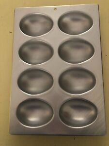 Wilton Cake Pan Mold/Easter Eggs - 8 Cavity's - 1971 -# 508-2127