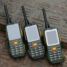 4000mAh 2.4'' UHF Walkie Talkie Handheld Power Bank Mobile Phone  2 SIM Card FM