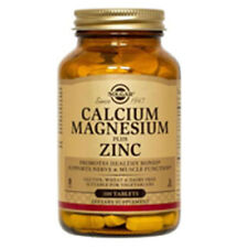 Calcium Magnesium Plus Zinc 100 Tabs by Solgar