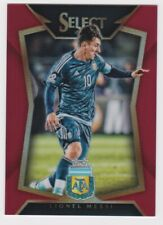 2015-16 Panini Select Soccer Base Red Lionel Messi 022/199