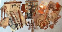 Craft clearout mix, card toppers / paper die cuts, bundle joblot vintage, # Lcog