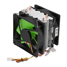Dissipatore CPU ventola a doppia faccia Silenzioso per Intel LGA775/1156/1155