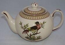 "burton+Burton Porcelain 6 Cup Teapot Tea Pot 5.8"" BIRDS OF BEAUTY"