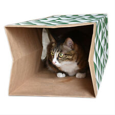 Cat Paper Bag Tunnel Toy Cat Activity Play Bag Cat Hiding Sneaking Toys
