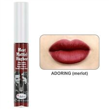 The Balm Cosmetics -Meet Matte Hughes Long Lasting Liquid Lipstick - ADORING