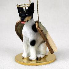 RAT TERRIER ANGEL DOG CHRISTMAS ORNAMENT HOLIDAY  Figurine Statue