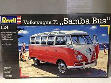 +++ Revell 07399 Volkswagen T1 SAMBA BUS 1:24 07399