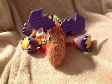 Developmental Lamaze moose soft squeaky teething toy 9""