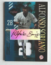 Alfonso Soriano 2003 Leaf Limited Moniker Position Game-Worn Jersey Auto #2/10