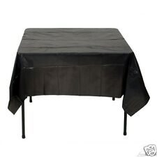 Black Table Cover, Graduation, Anniversary, Wedding, 2  (TWO) Table Cloths NEW