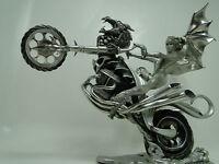 Dragon Motorcycle Woman Art Fantasy Sculpture Statue Sexy Bike Babe Hottie