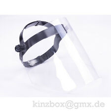 Schutzmaske Gesichtsschutz Visier Gesichtsschutzschirm Augenschutz für Profi