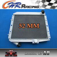 FOR 52mm aluminum radiator Renault R 5 Super GT Turbo MT
