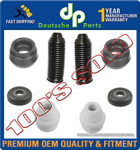 STRUT SHOCK MOUNTS BEARINGS BUMP STOP FOR AUDI TT VW BEETLE GOLF JETTA KIT 8