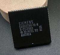 Siemens SAB80286-16-N CPU 16-bit 286 Processor 16MHz PLCC68