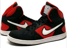 NIKE SON OF FORCE MID Trainers Leather  - UK Size 13 (EUR 48.5) Black Red White