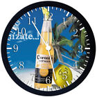 Corona Beer Extra Black Frame Wall Clock Nice For Decor or Gifts W212