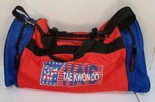 Ha'S Tiger Claw Red Blue Taekwondo Sparring Gear Bag Karate Has Large Duffel Bag