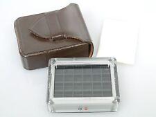 Leitz Leica amplificador elemento para Leica metros mc + Leitz bolsa de piel + incident L