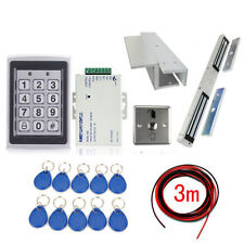 RFID Door Access Control Kit With 280KG Electromagnetic Lock+ RFID Card+ Power