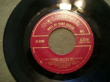 TONY BENNET WITH PERCY FAITH HALL OF FAME SERIES WITH 4 HITS 45 RECORD