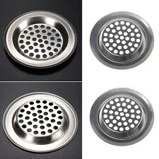 New listing 2Pcs Stainless Steel Mesh Sink Strainer Kitchen Bath Drain