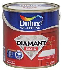 "Peinture bois DULUX Valentine Diamant "" Blanc "" 2 L"