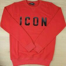 Dsquared2 ICON Pullover Sweatshirt Herren Logo Rote Gr.S-XXL