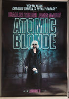 Cinema Poster: ATOMIC BLONDE 2017 (Main One Sheet) Charlize Theron James McAvoy